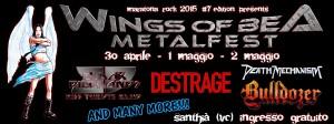 Wings of Bea Metalfest 2015