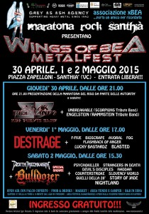 Wings of Bea Metalfest 2015